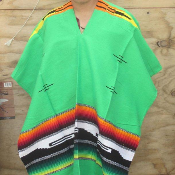 Lys Grøn Poncho