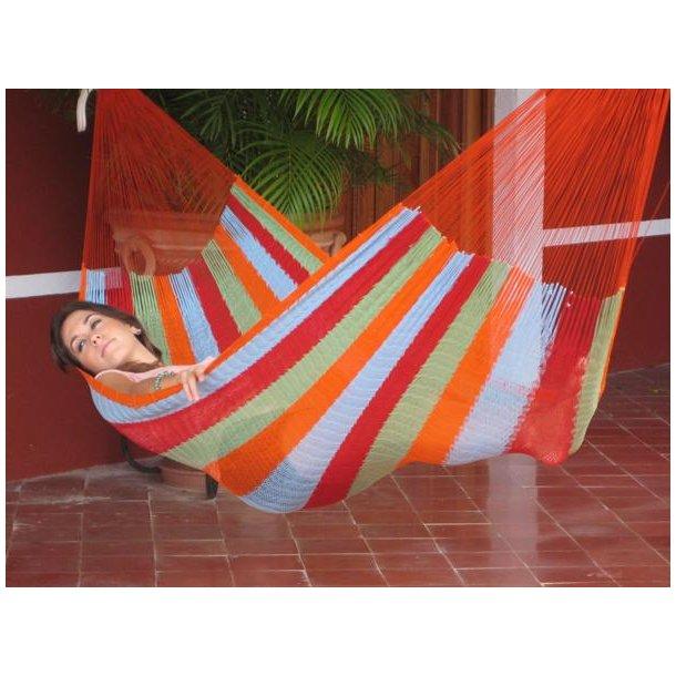 Mexicansk Coated bomulls nett hengekøye Nr. C4