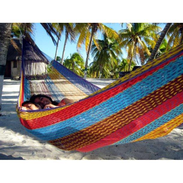 Maya hengekøye i bomull