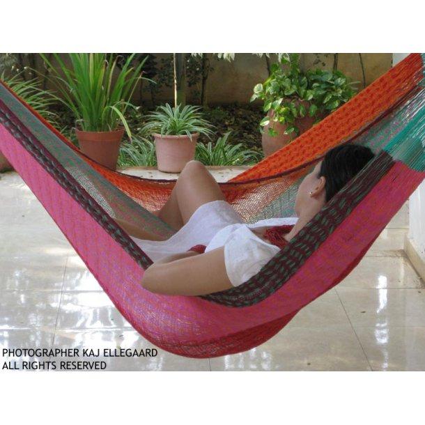 Meksikansk dobbel hengekøye i vakre design