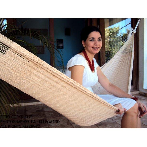 Meksikansk naturlig hvit hengekøye, off white